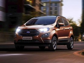 Next-gen Ford Ecosport Taillights And Interior Revealed in Latest Spy Pics