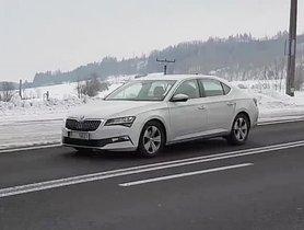 New-Gen Skoda Superb Spotted Testing In Czech Republic