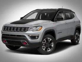 Jeep Compass Traihawk Interior Spied Again