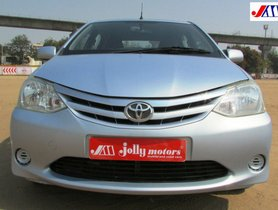 Toyota Platinum Etios G 2011 for sale
