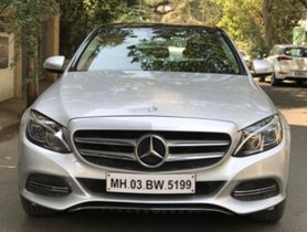 Used Mercedes Benz C Class 2015 car at low price