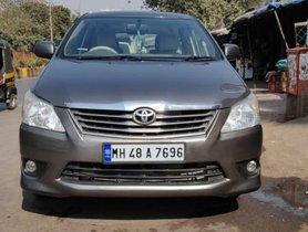 Toyota Innova 2.5 G (Diesel) 7 Seater BS IV 2012 for sale