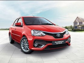 Toyota Etios Base Variants To Soon Get Updated