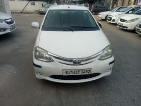 2012 Toyota Platinum Etios for sale at low price