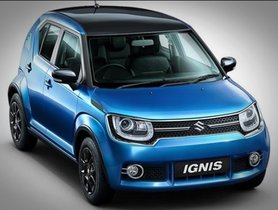 Maruti Suzuki Ignis Facelift Could Be Launched On Feb 20, 2019