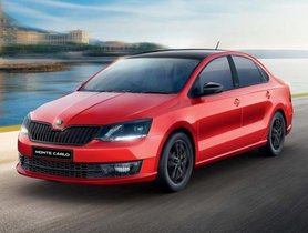 Skoda Rapid Monte Carlo Relaunched At Rs 11.16 Lakh