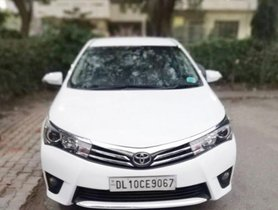 2015 Toyota Corolla Altis for sale at low price