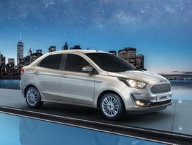 Ford Aspire CNG Option Launched at Rs 6.27 lakh
