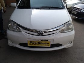 Toyota Platinum Etios GD 2012 for sale