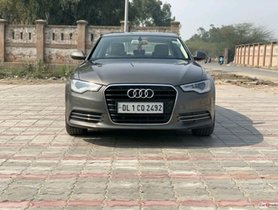 2013 Audi A6 for sale at low price