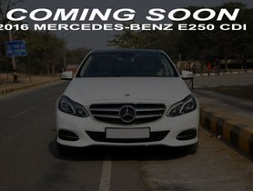 Mercedes-Benz E-Class E250 CDI Avantgarde 2016 for sale