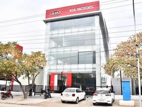 Kia's First Showroom In India Established Before SP2i SUV Launch