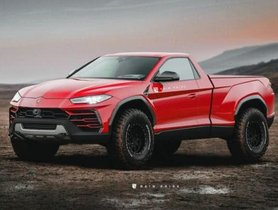 Lamborghini Urus Pickup Truck Production Model Looks Unique - Rendering