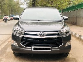 Used Toyota Innova Crysta 2018 car at low price