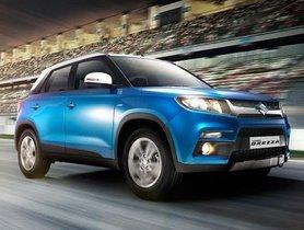 Maruti Suzuki Vitara Brezza's Sales Reach 4 Lakh Units