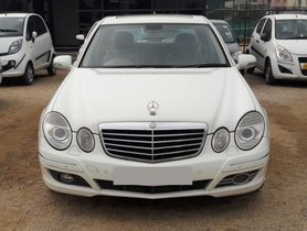 Used Mercedes Benz E Class 2009 car at low price