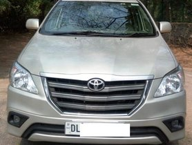 Toyota Innova 2.5 G (Diesel) 7 Seater BS IV 2014 for sale