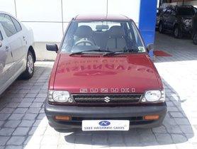 2009 Maruti Suzuki 800 for sale at low price