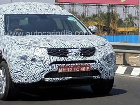 Tata H7X Spotted Undergoing Road Test - What We Know About This Seven Seater By Far?