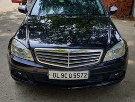 Used Mercedes Benz C Class car 2008 for sale at low price