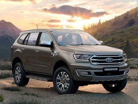 2019 Ford Endeavour Launched In India From Rs 28.19 Lakh
