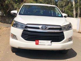 Used Toyota Innova Crysta 2017 car at low price