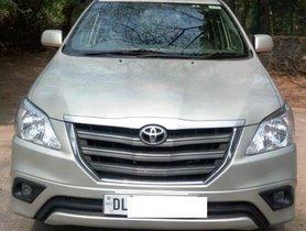 Toyota Innova 2.5 GX (Diesel) 7 Seater BS IV 2014 for sale