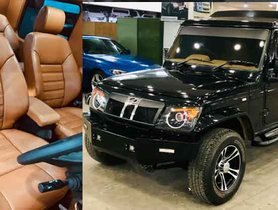 Mahindra Bolero Invader Gets Modified To Become More Luxurious And Fashionable