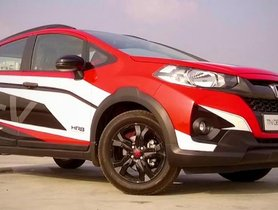 Customized Honda WR-V Gets A New Paint Scheme To Look More Attractive [Video]