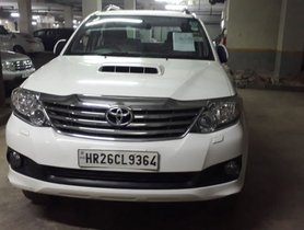 Used Toyota Fortuner 2014 car at low price