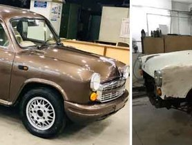 A Hindustan Ambassador Immaculately Transformed With Premium Treatment