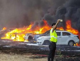 Toyota Becomes The Hero Of The Bangalore Airshow Fire-Affected Customers