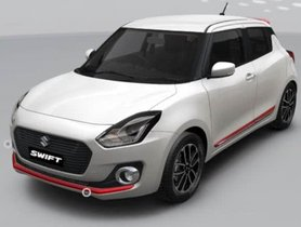 Maruti Suzuki Swift Looks Good With The Red Speedster Accessories Package
