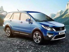 2019 Tata Hexa To Get Dual-tone Exterior Paint And New Infotainment System