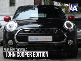 Good as new Mini Cooper S 2018 for sale