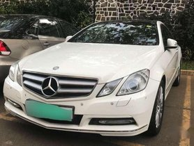 Used Mercedes Benz E Class car 2010 for sale at low price