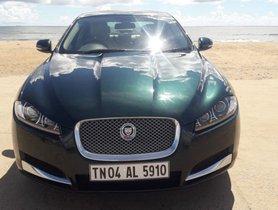 Used Jaguar XF car at low price
