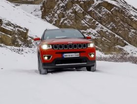 Check Out How A Jeep Compass Operates On Snow-covered Road in Spiti [Video]