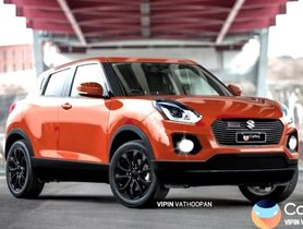 Check Out The Maruti Suzuki Swift Cross Crossover In This Latest Rendering