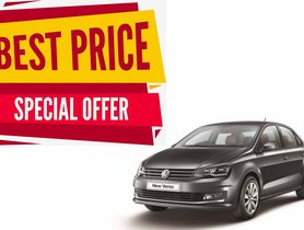 Volkswagen Vento Available With Discounts Up To INR 1.7 Lakh