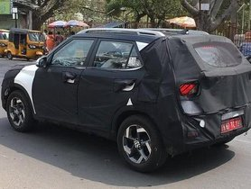 Hyundai Styx Compact SUV Spotted Testing On Indian Roads