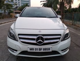 Used Mercedes Benz B Class car at low price