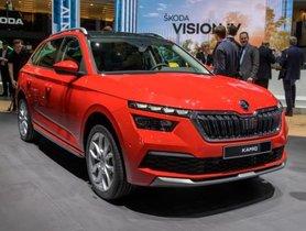 Skoda Kamiq Showcased At 2019 Geneva Motor Show