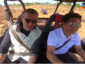 Sachin Tendulkar Off-Roading In BMW X3 And Polaris ATV (Video)