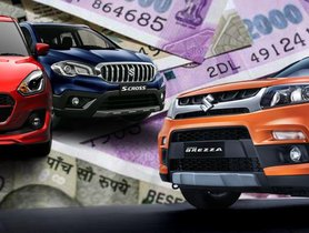 Maruti Suzuki Vehicles On Sale With Generous Discounts This Month