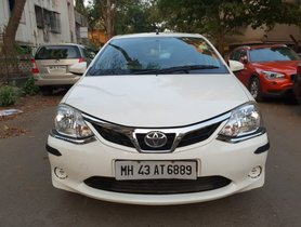 Used Toyota Platinum Etios car at low price
