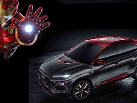 When Hyundai Kona met the Iron Man!