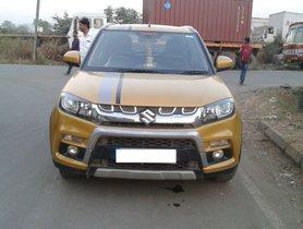 Used Maruti Suzuki Vitara Brezza car at low price