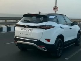 Tata Harrier Gets Dual Tone Colour Treatment From a Dealership