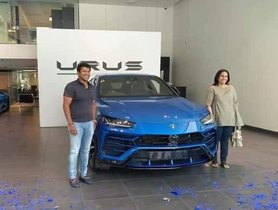 [Celebrity Car Collection] Puneeth Rajkumar Presents His Wife With A Lamborghini Urus SUV On March 8